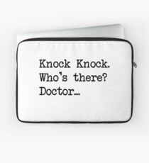 Knock-Knock 2 Laptop Sleeve