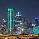 Dallas Stars Skyline by josephhaubert