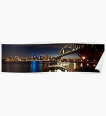 Sydney Harbour Panaroma Poster