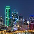 Dallas SMU Skyline by josephhaubert