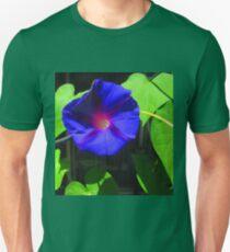 The Purple Mornnig Glory Unisex T-Shirt