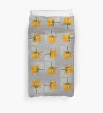 Marigold with Punk Hairstyle Duvet Cover