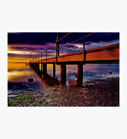 """""""Boardwalk to the Break O' Day"""" Photographic Print"""