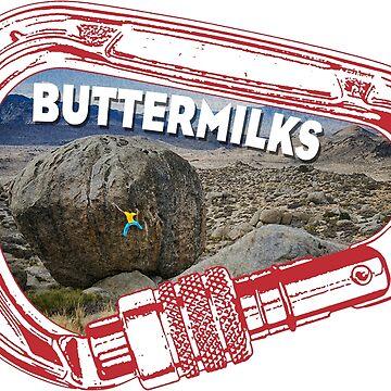 Buttermilks Climbing Carabiner by esskay