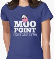 A Moo Point Women's Fitted T-Shirt