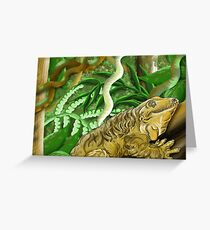 Leachie Drawing Greeting Card