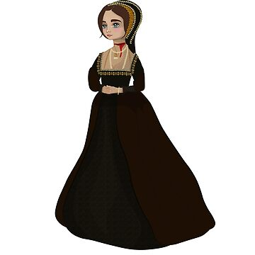 Anne Boleyn #03 -  vector art by vixfx