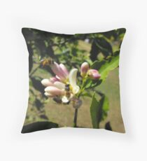 More Bees  Throw Pillow