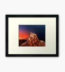 Alabama Hills 2. Framed Print