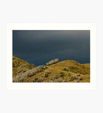 Mt Blowhard (as an iMac saw it). Art Print