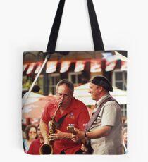 Tony D and Zeek Gross Tote Bag