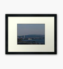 View from Portsdown Hill 01 Framed Print