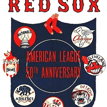 1951 American League 50th Anniversary Boston Red Sox by Glyn123