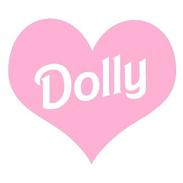 Dolly (Pink Heart) by pinkbloodshop