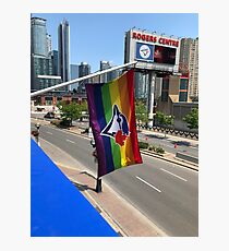 Toronto Blue Jays Pride Flag Photographic Print