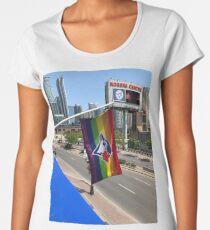 Toronto Blue Jays Pride Flag Women's Premium T-Shirt