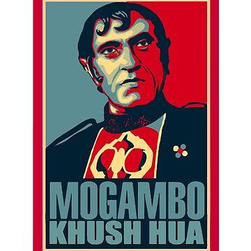 Mogambo Kush Hua by inkstyl