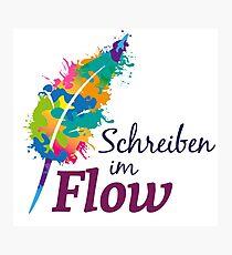 Schreibrausch - Schreiben im Flow Fotodruck