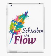 Schreibrausch - Schreiben im Flow iPad-Hülle & Skin