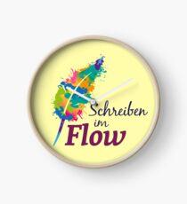 Schreibrausch - Schreiben im Flow Uhr
