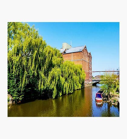 Historic Flour Mill. Photographic Print
