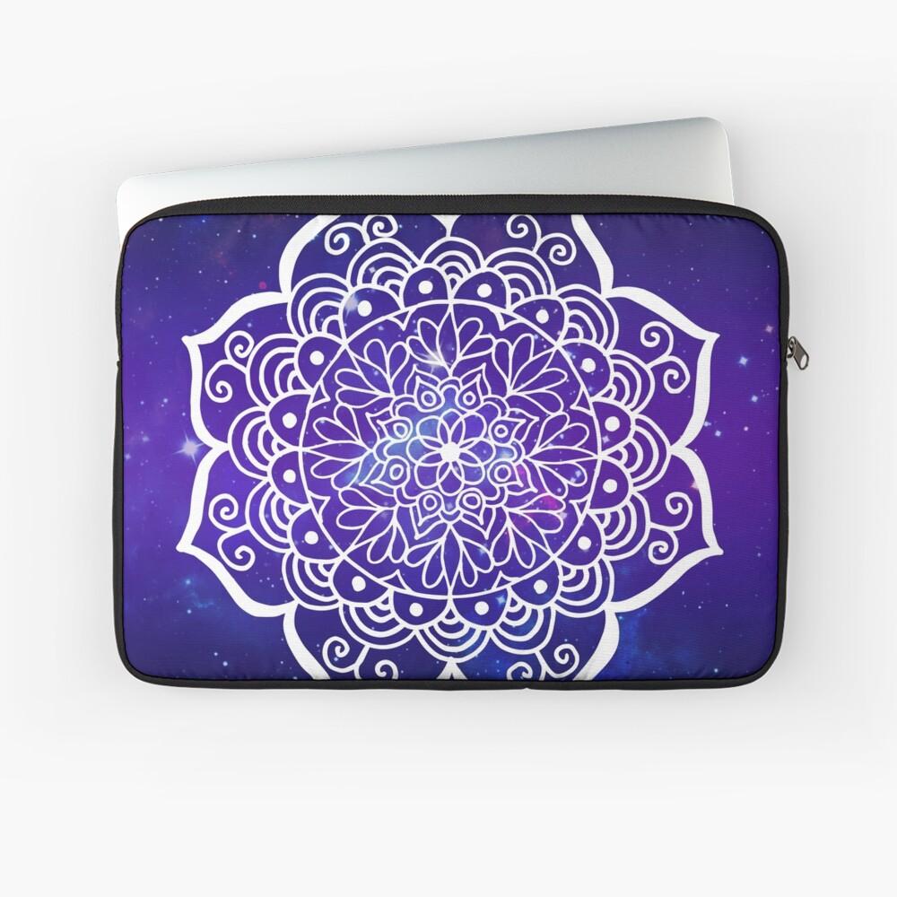 Galaxy Mandala Laptop Sleeve Front
