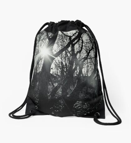 Out of the Dark Drawstring Bag