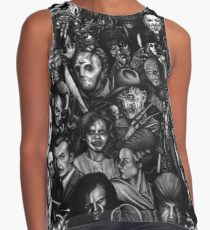 Best Classic Horror Movies Contrast Tank