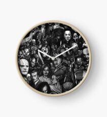 Best Classic Horror Movies Clock
