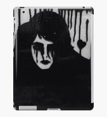 Ink on glass Depressed woman  iPad Case/Skin