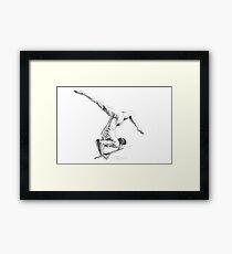 Art of the Gymnast Framed Print