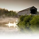Covered Bridge - New Brunswick Canada by Sherry Seely