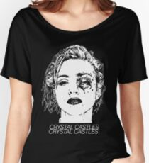 Crystal Castles (Black) Women's Relaxed Fit T-Shirt