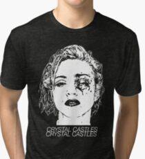 Crystal Castles (Black) Tri-blend T-Shirt