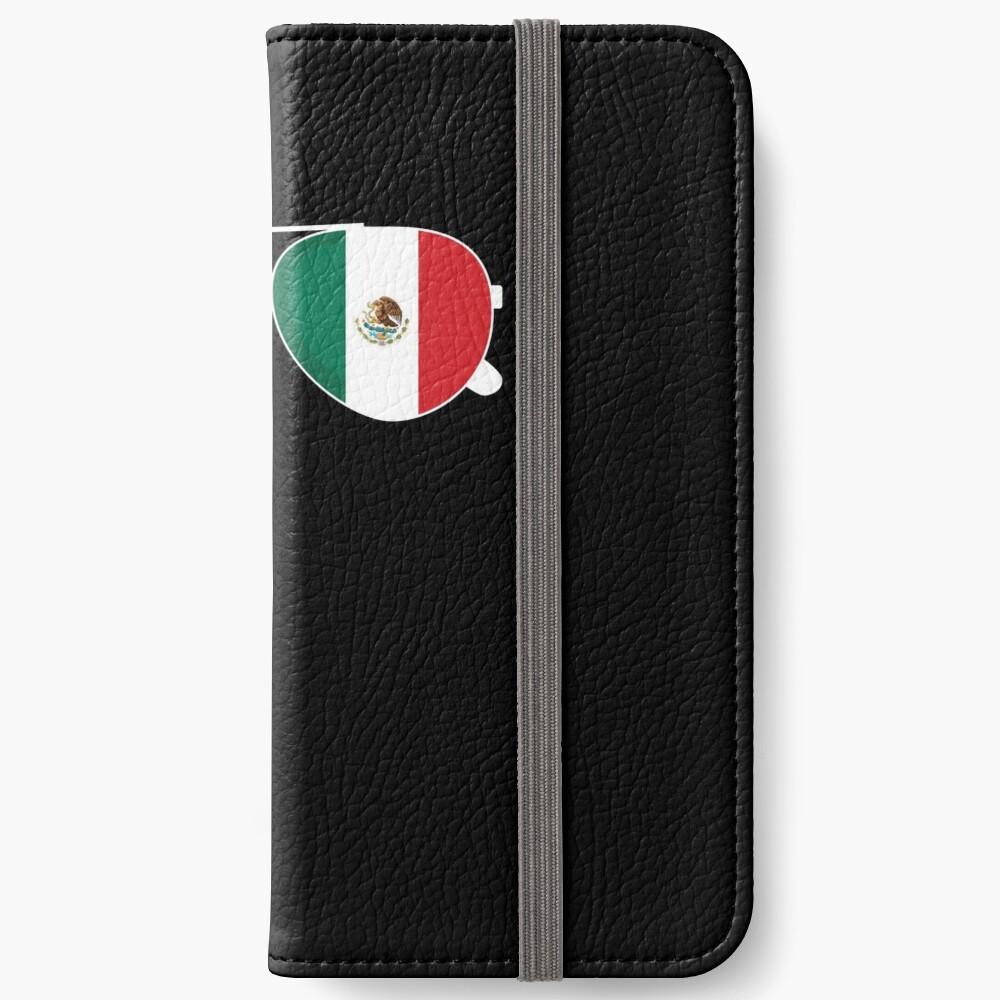 Mexikanische Flagge Mexiko Sonnenbrille Shirt Mexikanische Flagge Mexiko T-Shirt iPhone Flip-Case