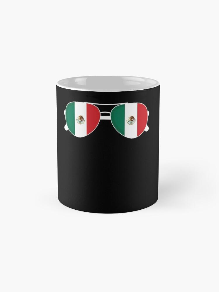 Alternative Ansicht von Mexikanische Flagge Mexiko Sonnenbrille Shirt Mexikanische Flagge Mexiko T-Shirt Tasse