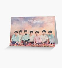 BTS (방탄소년단) LOVE YOURSELF WORLD TOUR Greeting Card