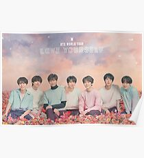 BTS (방탄소년단) LOVE YOURSELF WORLD TOUR Poster