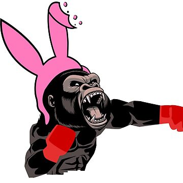 Lucky Punch Gorilla Bunny Torso by luckypunch
