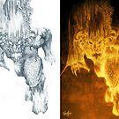 Balrog of Morgoth Progression by Curtiss Shaffer