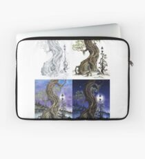 Sylvia and Her Lamp At Dusk Progression Laptop Sleeve