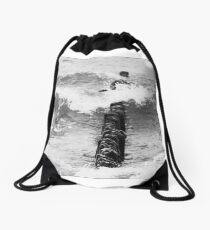 Baltic Waves 5 Drawstring Bag
