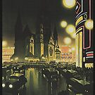 Berlin at Night, 1939 by edsimoneit