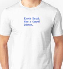 Knock-Knock 4 Unisex T-Shirt