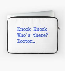 Knock-Knock 4 Laptop Sleeve