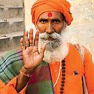 Varanasi portrait by 945ontwerp