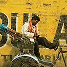 bicycle taxi, Varanasi by 945ontwerp