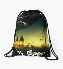 The Moon Has Fallen Album Artwork Drawstring Bag