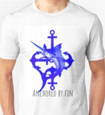 Von der Finne verankert Slim Fit T-Shirt