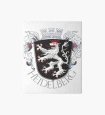 Heidelberg armoiries avec embellissement Impression rigide
